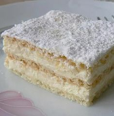 The Perfect Recipe Project: Two ingredient icebox yogurt cake Hungarian Desserts, Hungarian Recipes, No Bake Desserts, Delicious Desserts, Yummy Food, Cake Recipes, Dessert Recipes, Dessert Drinks, Sweet And Salty