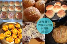 Reader-made Gluten Free Rolls and other Shaped Breads from GFOAS Bakes Bread