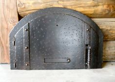 Beau Antique Looking Pizza Oven Door MD 204 With Damper By Teton Iron