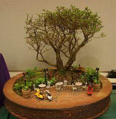 Mini Garden Container using our Garden Miniatures Fairy Gardens