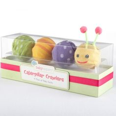 Caterpillar crawlers for the crawler in your life.