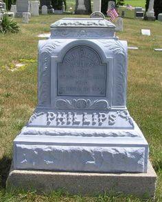 zinc gravestone Scotch Ridge-Webster Township Cemetery Pemberville, Ohio