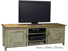 girtz 72 inch painted tv stand