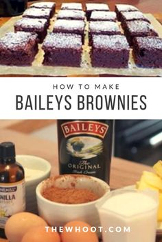 You will love this Baileys Brownies Video and the recipe is simple and delicious. You can be enjoying them in 30 short minutes.
