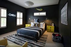 Teen boy's room! Like!