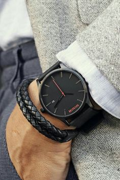 Black Leather Watch Men's Classic Series is part of Mvmt watches - Looking for a black leather watch Live life on your time with a watch that suites your dynamic lifestyle, from work to play to adventures afar Join the MVMT Trendy Watches, Cool Watches, Watches For Men, Casual Watches, Black Watches, Mens Watches Leather, Elegant Watches, Mvmt Watches, Luxury Watches
