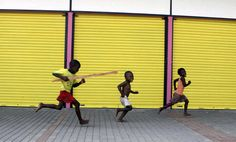 Children running through a taxi rank It Gets Better, Just Run, Toronto Canada, Taxi, South Africa, African, Running, Children, World