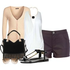 Leather, created by tammylo-12 on Polyvore