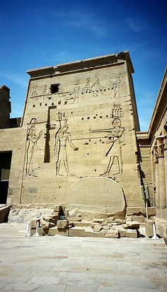 Philae Temple of Egypt
