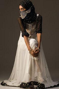 pakistani muslimah...its beautiful style
