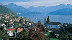 Majestic Lake Lucerne (Credit: Panoramic images/Getty)