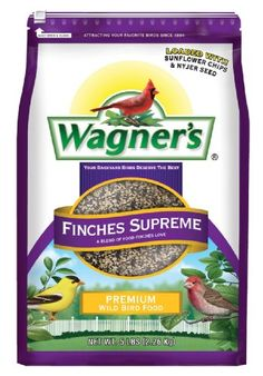 Wagners 62068 Finches Supreme Blend 5Pound Bag -- Click image to review more details. (Note:Amazon affiliate link)