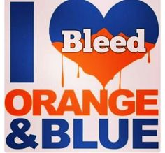 Be true to Orange & Blue