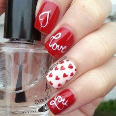 awesome valentine by perfectly_nailed #nail #nails #nailart...
