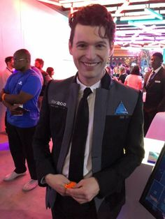 Bryan Dechart aka Connor(Detroit: Become Human) in 2018 Bryan Dechart, Beautiful Men, Beautiful People, Beautiful Things, Divas, Detroit Become Human Connor, Becoming Human, Aesthetic People, Cute Actors