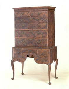 High Chest of Drawers | Furniture | 1991.457 -- Historic New England