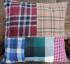 Keepsake Memory Pillow Pillow Cover Loved by stitchintimepatterns, $35.00