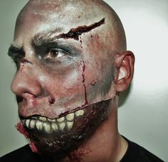 This is just some of my special effects work, i created a zombie ;)