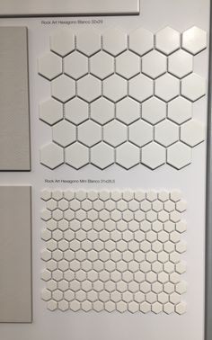 Small hexagon tiles from Roha €85/m2 + IVA