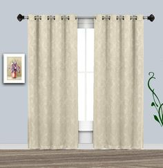 Warm Home Designs 54 Inch Energy Saving Insulated Thermal Curtains Insulated Curtains, Thermal Curtains, Grommet Curtains, Blackout Curtains, Energy Efficient Homes, Room Darkening, Save Energy, Clean House, House Warming