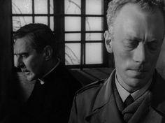"zzzze: ""Dir: Ingmar Bergman DoP: Sven Nykvist (film-stills ~ Winter "" Max Von Sydow, Ingmar Bergman, Film Watch, Film Images, Human Emotions, Film Stills, Feature Film, Movie Quotes, Memoirs"