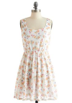 Light-hearted Lunch Dress, #ModCloth  Open back dress... in the mail!
