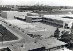 jacob botkeweg 1978 nieuwbouw ssg Historisch Centrum Leeuwarden - Beeldbank Leeuwarden