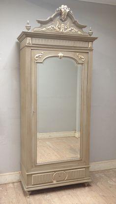 French Antique LXVI Armoire