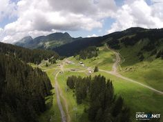 Aerial drone photo by Chrisparker Aerial Drone, France, Belle Photo, Golf Courses, Mountains, Nature, Photos, Travel, Naturaleza