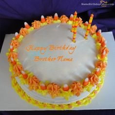1000+ images about Name Birthday Cakes For Brother on ...