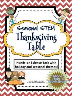 Seasonal STEM: Thanksgiving Table