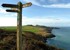Pembrokeshire coast path   coastal path map of Pembrokeshire