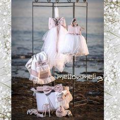 Set βάπτισης Ασορτί με φόρεμα Vinteli 2810 Tulle, Ballet Skirt, Skirts, Fashion, Moda, Tutu, Fashion Styles, Skirt
