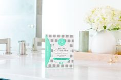 Introducing Honest Feminine Care - products made with GOTS certified organic cotton delivering the comfort and performance you expect. | Honest Organic Cotton Pads With Wings, Regular