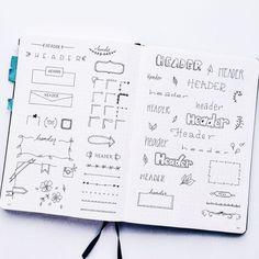Planner Doodles - Inspiration for your Bullet Journal • ForeverGoodLife