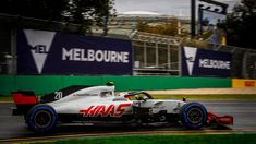Kevin Magnussen, Haas VF-18 qualifying at Australian Grand Prix, Melbourne - Saturday 24 March 2018