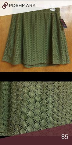 Hunter Green Mini Skirt *Never been worn No Boundaries Skirts Mini