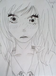Anime girl by: Ana-chan