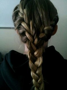 French braids into one