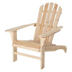 Chaise Adirondack Empilable Et Tres Confortable Indigo Retro