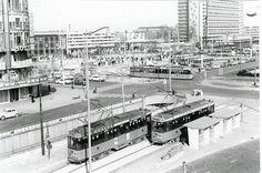 Het oude centraal station, jaren 60/70