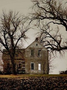 Cool abandoned house! Abandoned Buildings, Old Abandoned Houses, Abandoned Mansions, Old Buildings, Abandoned Places, Abandoned Castles, Spooky Places, Haunted Places, Haunted Houses