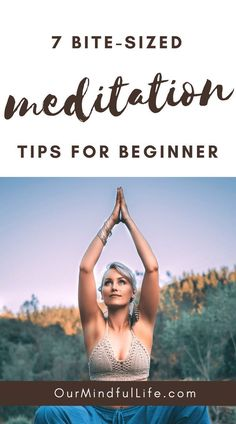 7 Bite-sized Meditation Tips For Beginners - How To Get Started Smoothly Best Meditation, Meditation For Beginners, Meditation Benefits, Meditation Techniques, Healing Meditation, Meditation Music, Mindfulness Meditation, Guided Meditation, Mantra Meditation