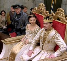 Coronation - The Tudors - Anne Boleyn and Henry VIII