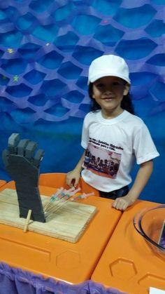 Mão robótica hidráulica
