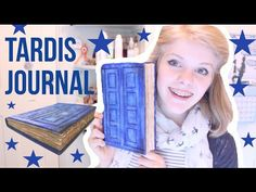 River Song Tardis Journal | DIY - YouTube OMG totally making this next weekend!!!