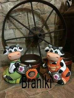 Cow Cakes, Malta, Biscuit, Mickey Mouse, My Arts, Cows, Pottery, Ceramics, Halloween