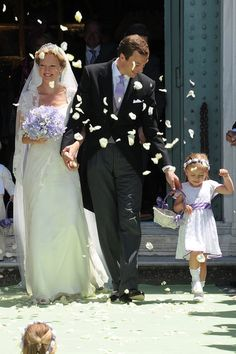 June 2012 At the Basilica San Miniato al Monte in Florence, Italy, Princess Maria Carolina of Bourbon-Parma married Albert Brenninkmeijer. Maria-Carolina is the daughter of Princess Irene of the Netherlands, who is the sister to Queen Beatrix