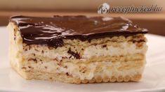 Villámgyors kekszes krémes - YouTube Vanilla Cake, Tiramisu, Breakfast Recipes, Sweets, Cooking, Ethnic Recipes, Foods, Youtube, Gastronomia