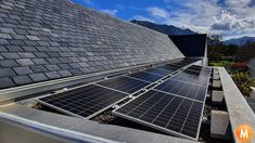 Solar Panels installed on a flat roof in Cape Town, South Africa Solar Panel System, Solar Panels, Cape Town South Africa, Solar Panel Installation, Flat Roof, Solar Power, Outdoor Decor, Home, Design